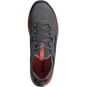 adidas TERREX Agravic XT Kengät Miehet, grey five/core black/active orange
